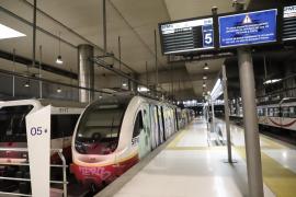 Los trabajadores de los trenes de Mallorca denuncian que no pueden garantizar la seguridad