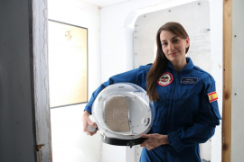 Una española lidera una misión simulada a Marte