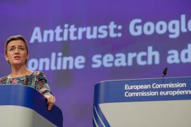 Bruselas impone a Google una multa de 1.490 millones por abuso de posición dominante