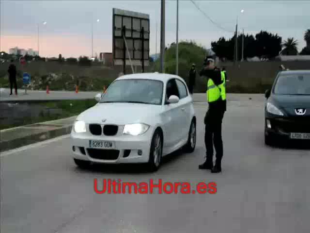 La Policía Local 'caza' a once conductores drogados en Son Banya