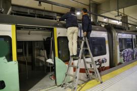 SFM investiga la causa del incendio y afirma que los trenes «pasan los controles que corresponden»