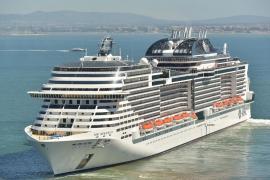 MSC Cruceros anuncia 102 escalas en el puerto de Palma