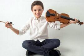 Elías Henry-Picó, un virtuoso del violín, entre los concursantes de 'Prodigios' de TVE