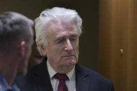 Elevan la condena a Karadzic a cadena perpetua por los crímenes en la Guerra de Bosnia