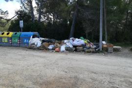 Sant Josep sanciona un nuevo vertido ilegal en Platges de Comte