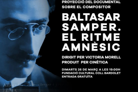 Proyección de 'Baltasar Samper. El ritme amnèsic' en Valldemossa