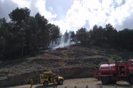 Alerta en Ibiza por un incendio forestal
