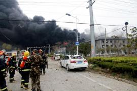 Una explosión en una planta química de China causa 6 muertos