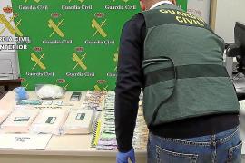 A prisión los dos detenidos en la operación que decomisó cinco kilos de cocaína en Palma