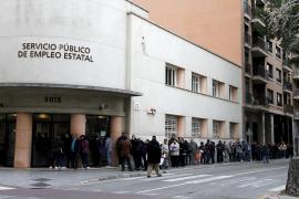 Uno de cada cuatro trabajadores de Balears estaba desempleado al finalizar 2011