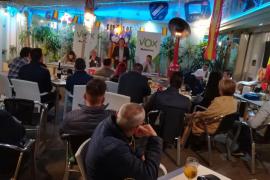 Vox promete un plan de seguridad y limpieza para la Playa de Palma