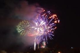 Resplandor en la Noche (Fiestas de San Sebastian) PALMA