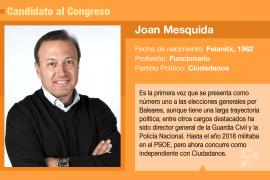 Joan Mesquida, elegido ministro del Interior antes de ser votado