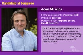 Joan Miralles, defensor del alquiler turístico