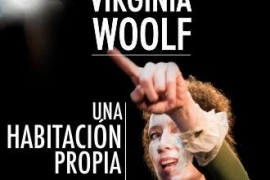 La obra de Virgina Woolf 'Una habitación propia' se representa en el Auditòrium Sa Màniga
