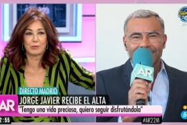 Jorge Javier Vázquez sale del hospital