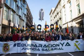 Guardias civiles exigen una «equiparación salarial real»