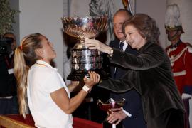La reina emérita presidirá la gala del 50º Trofeo Princesa Sofía