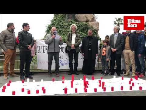 Cerca de 300 personas condenan en Palma el ataque a dos mezquitas en Nueva Zelanda