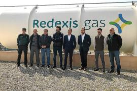 La nueva planta de gas natural dará servicio a un millar de casas y negocios de Muro
