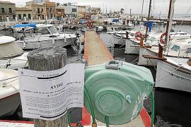 La Autoritat Portuària da de plazo hasta este sábado para retirar las barcas del Molinar