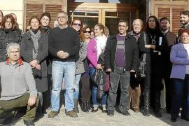El pueblo se manifestará cada quince días hasta que se abra la carretera a Cala Millor