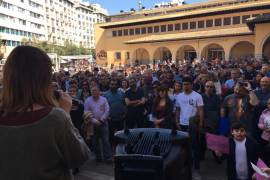 Unas doscientas personas se concentran en Palma contra la extrema derecha