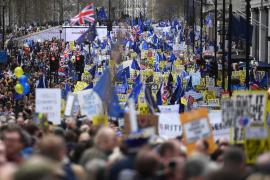 Londres vive la mayor movilización contra el Brexit de la historia