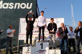 Jordi Lladó gana la Copa de España de Laser Radial