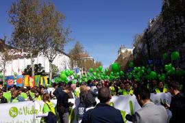 Varios miles de personas se manifiestan en Madrid al grito de «aborto cero»
