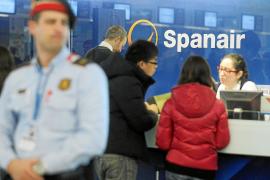 Multa de hasta 9 millones de euros a Spanair por la «abrupta cancelación de vuelos»