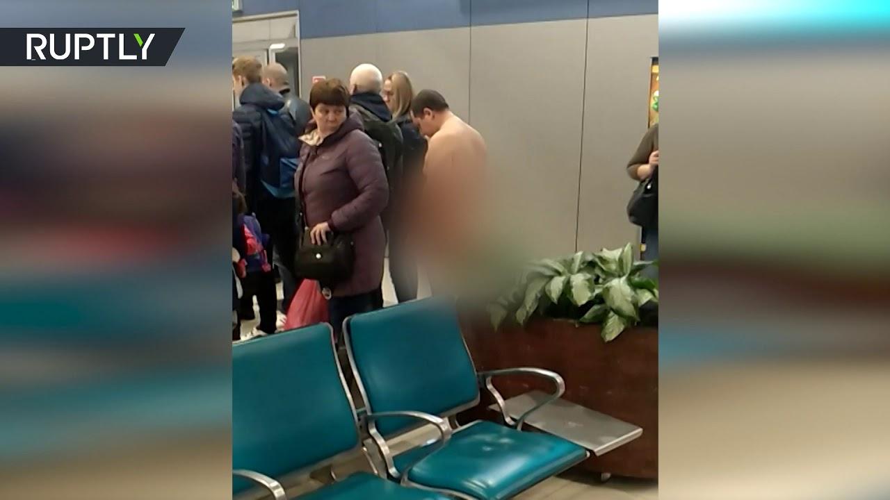 Un pasajero intenta subir a un avión desnudo para ser «más aerodinámico»