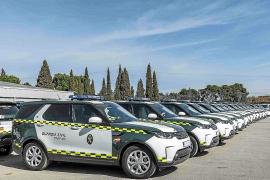 Land Rover entrega a la DGT 85 unidades de Discovery