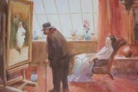 Una muestra de cuadros de 'Luis Bermejo Rojo' se expone en la Fundación Barceló