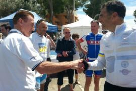 Indurain, Kelly o Freire, junto a Contador en la Mallorca 312
