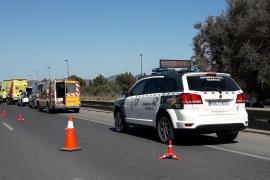 En estado crítico un joven motorista accidentado en Ibiza