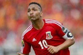 Emilio Nsue, goleador en el paro
