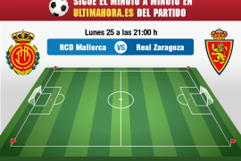 Así hemos vivido el Real Mallorca-Real Zaragoza