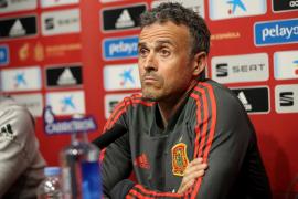 Luis Enrique no dirigirá esta noche a España frente a Malta