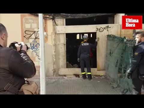 La Policía Nacional investiga la caída desde un tercer piso de un okupa en Palma
