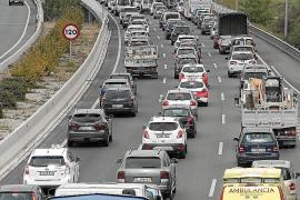 Las carreteras de Baleares suman 30.000 nuevos vehículos al año desde el 2016