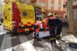 El okupa precipitado en Palma es un menor fugado de un centro