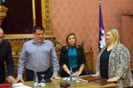 Maria Magdalena García Gual toma posesión como consellera del PP en el Consell de Mallorca