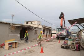 Cort finaliza la primera fase del desmantelamiento de Son Banya