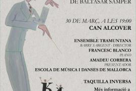 Regresa '3 danses mallorquines per a piano i cordes', de Baltasar Samper a Can Alcover