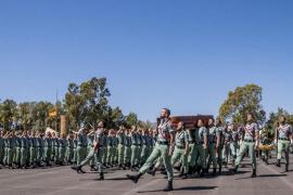 El Ejército despide con honores al legionario mallorquín fallecido