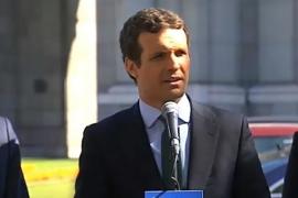 Casado alerta sobre el más que posible pacto de Sánchez y Rivera