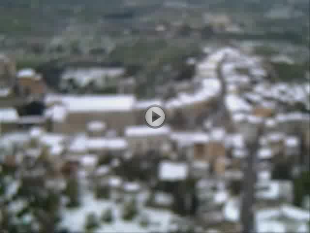 La nieve cubre Mallorca