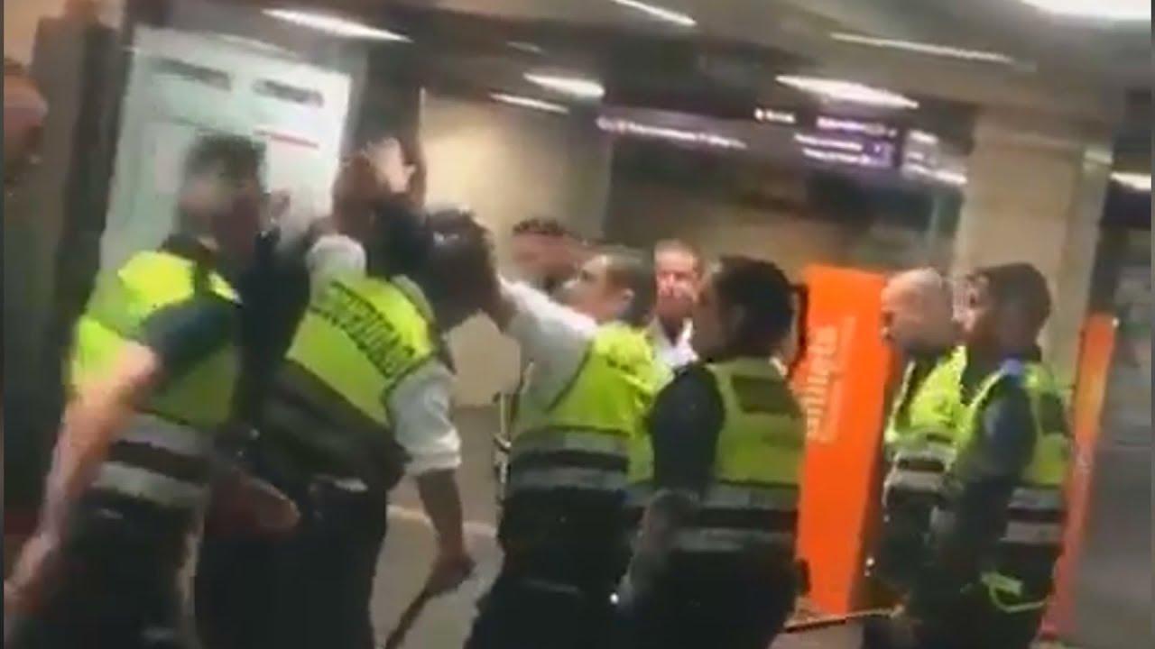 Renfe aparta a los vigilantes que dieron una paliza a un pasajero