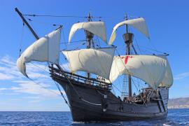 La 'Nao Victoria' visita Palma para conmemorar la primera vuelta al mundo